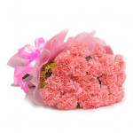 Pink Carnations Posy