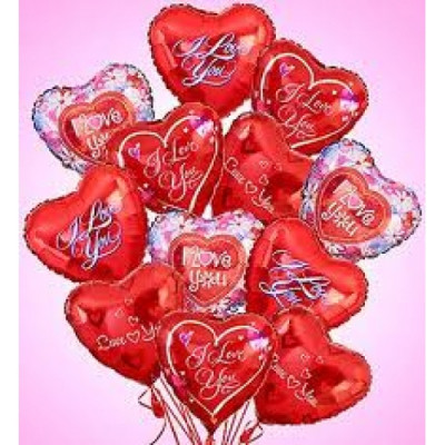 5 pcs of Ever Lasting Mylar Balloons
