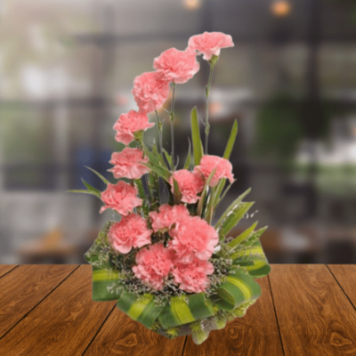 Dazzling Carnations Arrangement