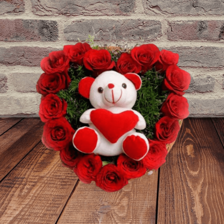 Roses N Soft toy