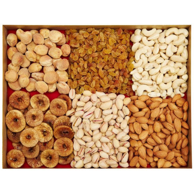 Assorted dry fruits n sweets combo