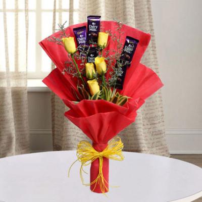 Cadbury With Rose