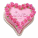 Gift A Heart Cake