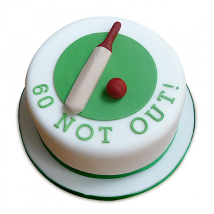 60 Not Out Designer Cake