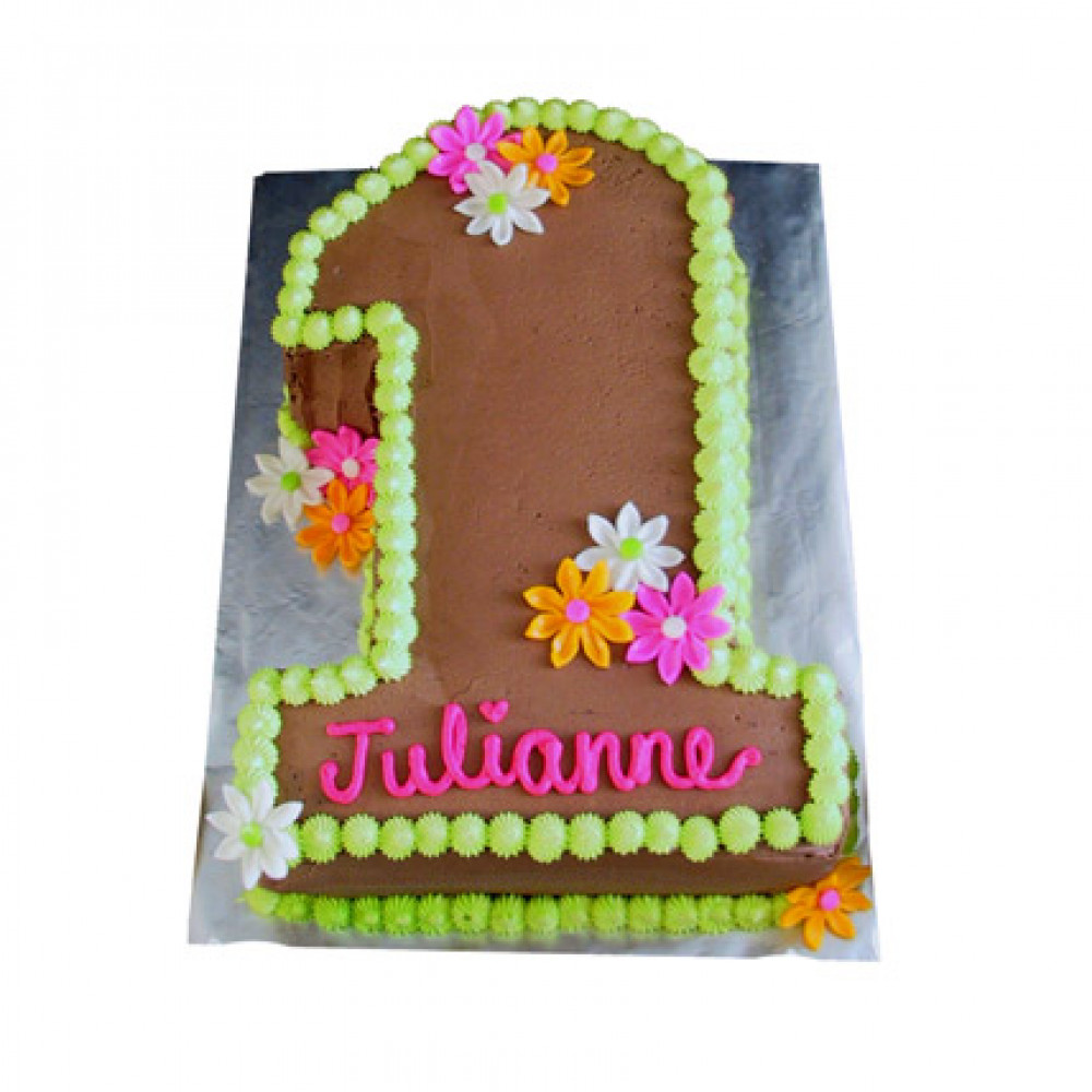 Excellent Chocolaty 1St Birthday Cake Personalised Birthday Cards Veneteletsinfo