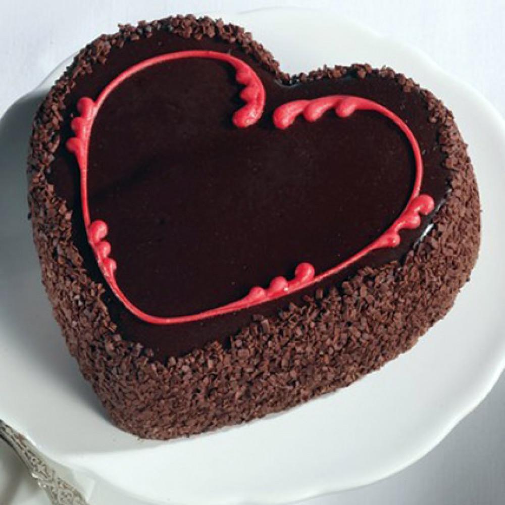Cake Love Shape Half Kg