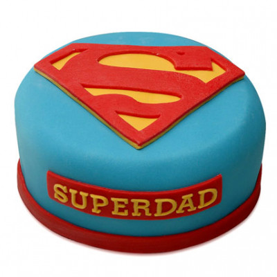 All time favorite Super Dad Cake