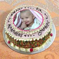 Photo Cake Vanilla
