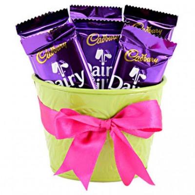 Chocolaty Vase