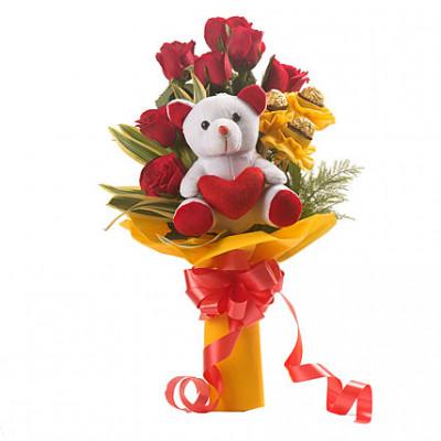 Red Choco Bouquet