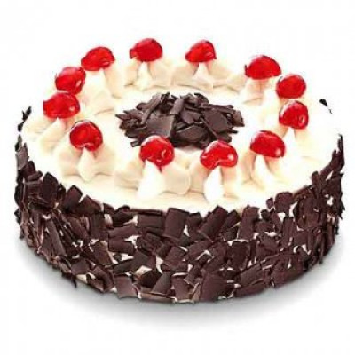 1 kg black forest cake from 5 star bakery