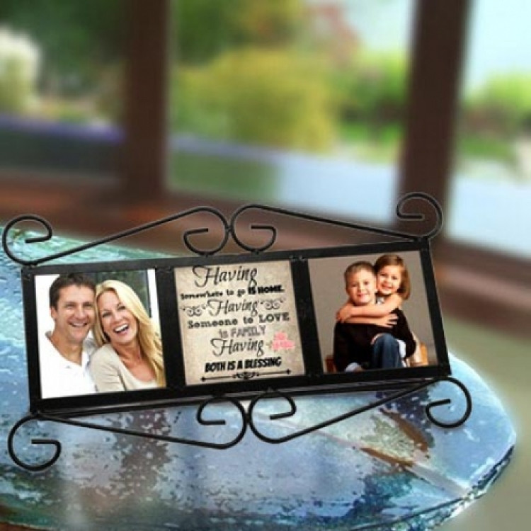 Happy Family Personalized Frame