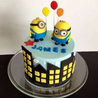 Minions With Balloons