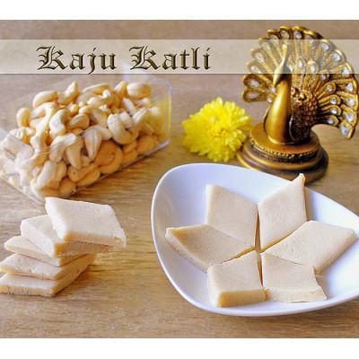 Half k kaju katli with half kg masala cashews