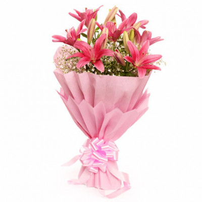 Bewitching Pink Bouquet