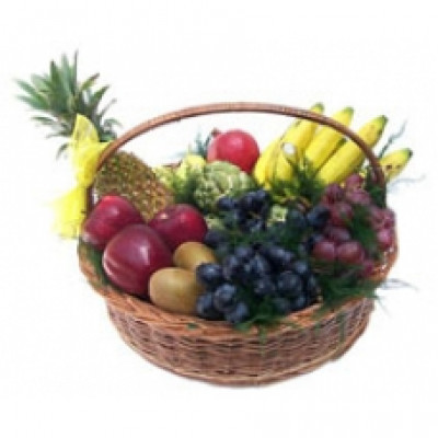 Basket Mixed fresh fruits