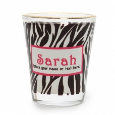 Personalized Name Shot Glass