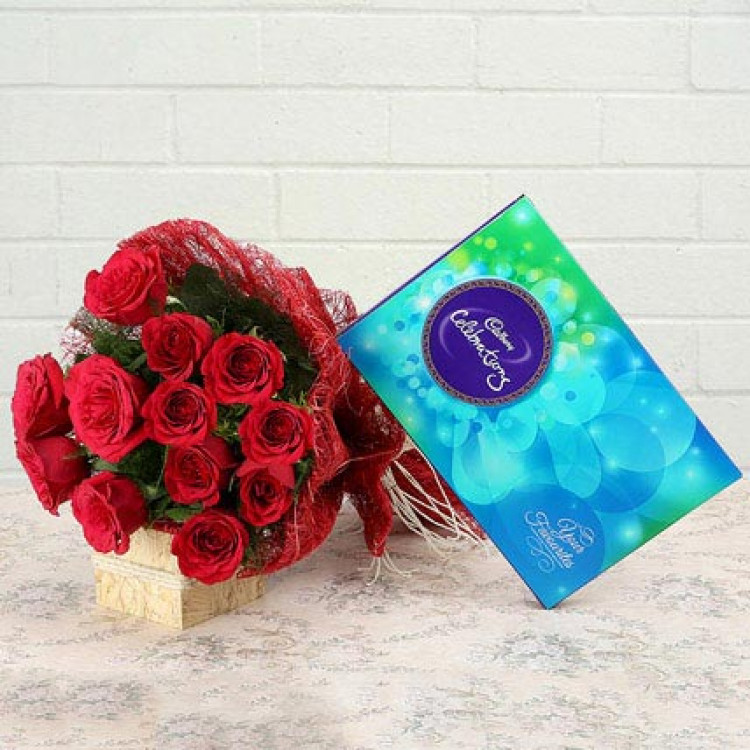 Celebration with Roses