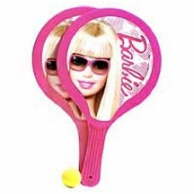 Barbie- Paddle Ball Set