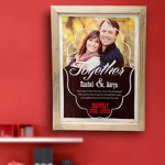Happily Ever After Personalized Wall Hanging