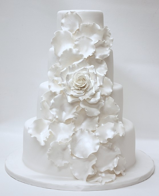 Ideas for decoration of the the wedding cakes